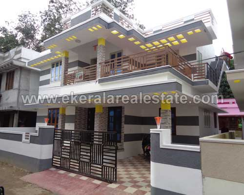 thirumala real estate thiruvananthapuram thirumala modern double storied house for sale