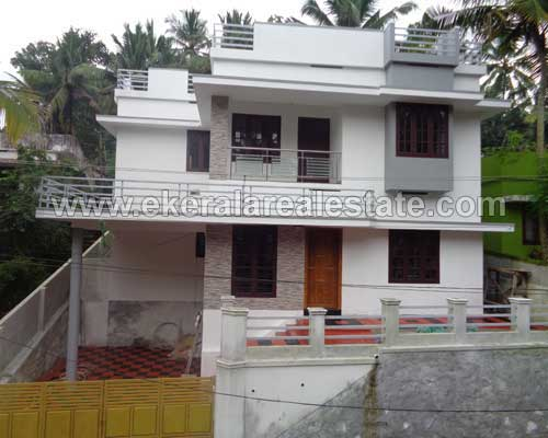kerala real estate trivandrum vattiyoorkavu newly built two storied house villas sale