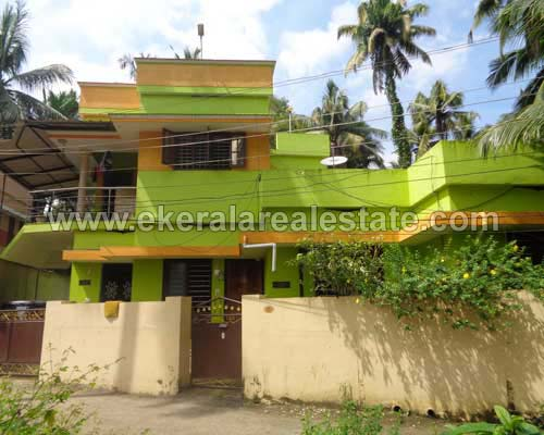 kaimanam real estate 6 cents and double storied house sale trivandrum