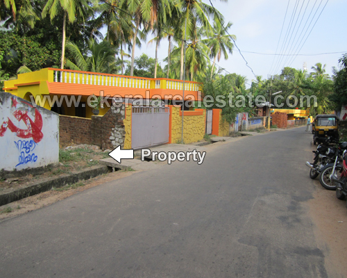 sreekaryam trivandrum road frontage 13 cent land plots sale kerala real estate