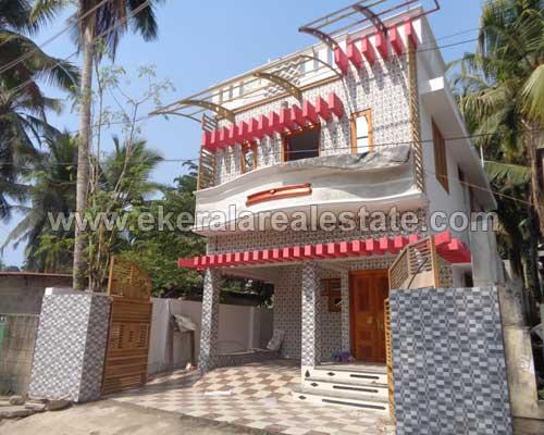 kerala real estate thiruvananthapuram Attukal Manacaud 1700 Sq.ft. house sale