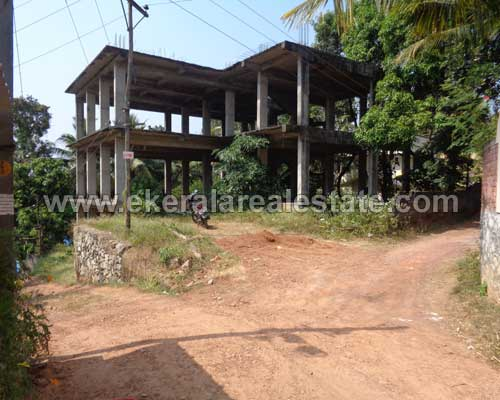 Pothencode kerala real estate Three Storied incomplete Building sale Pothencode properties