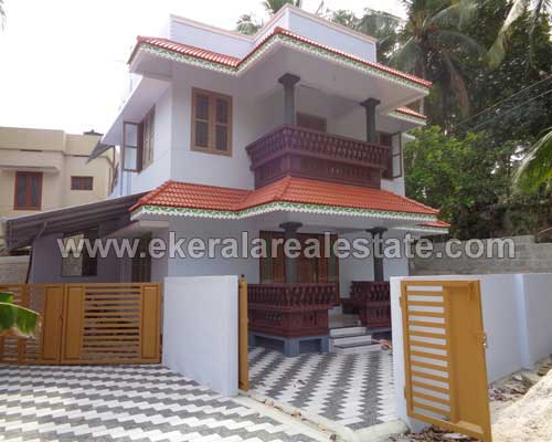 thachottukavu real estate properties thachottukavu 1400 sq.ft. two storied new house sale