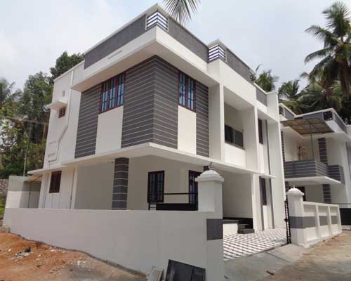 V.P Thampi Road kudappanakunnu new house villas for sale trivandrum kerala