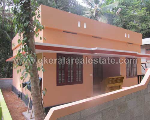 New Single Storied House for Sale at Pothencode Trivandrum Properties Kerala