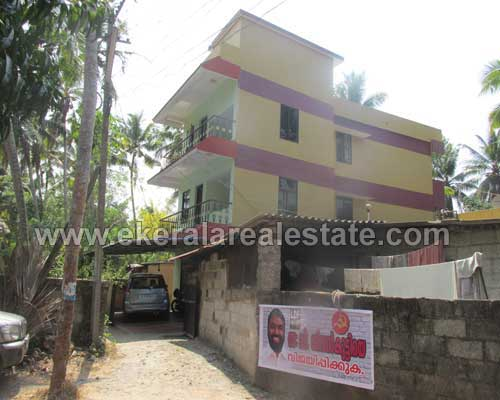 Kerala Real estate Trivandrum Properties Three Storied Building for Sale at Thiruvallam Trivandrum Kerala