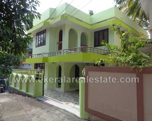 Trivandrum Real estate House for sale at Pongumoodu near Sreekaryam Trivandrum Kerala