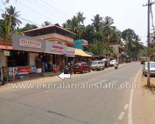Shop with Commercial Land for sale at Thiruvallam Poonkulam Trivandrum Real estate Kerala