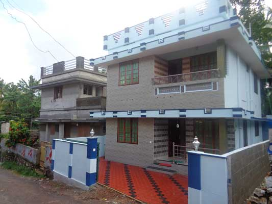 Peyad Properties Newly Constructed 3 Bedroom House for Sale at Peyad Trivandrum Kerala
