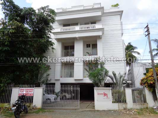 Ulloor Properties 3 Bedroom Flat for Sale at Pongumoodu near Ulloor Trivandrum Kerala