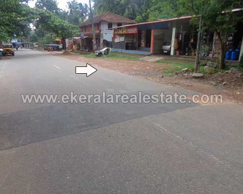 40 Cents Land with Shop and House for Sale at Vithura Trivandrum Kerala