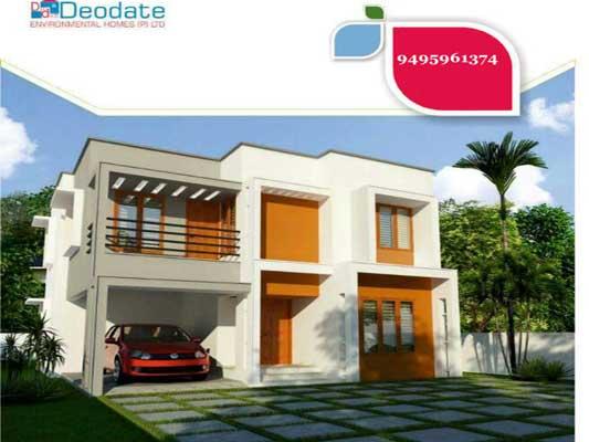Kollam Real Estate Budgeted Villas for Sale at Pattathanam Kollam kerala Kollam Properties