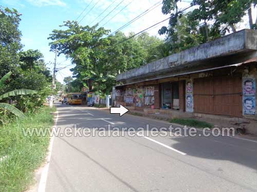 Thirumala Properties Main Road Frontage 10 Cents Plot with Shop for Sale at Vilappilsala Trivandrum Kerala