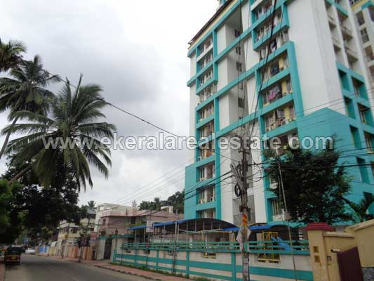 Vazhuthacaud Properties Semi Furnished 3 BHK Flat for Sale at Jagathy Trivandrum Kerala Real Estate
