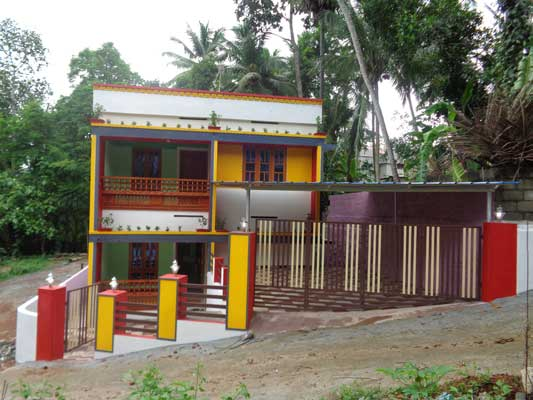 Thirumala Properties Newly Built  4 BHK House for sale at Peyad Trivandrum Kerala