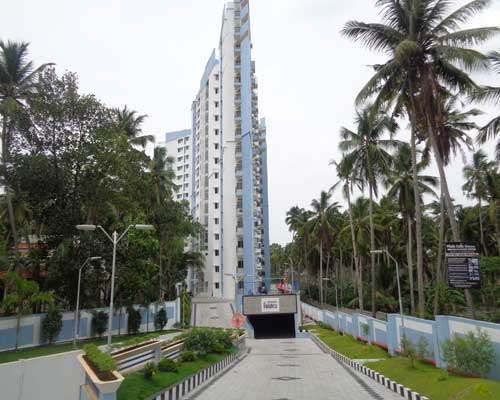 Kariavattom Properties 2 BHK and 3 BHK Flats for sale at Kariavattom Trivandrum Kerala