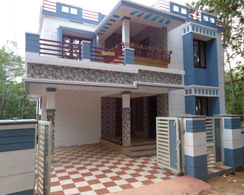 Thirumala  Real estate Newly Constructed House for Sale at Thirumala Trivandrum Kerala