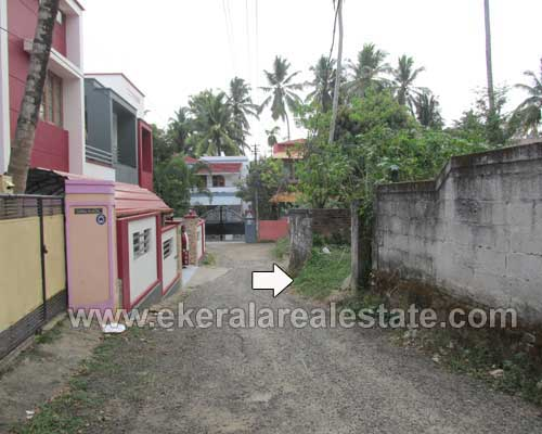 Residential Plot of 8 cents for sale at Kaimanam near Pappanamcode Trivandrum Kerala