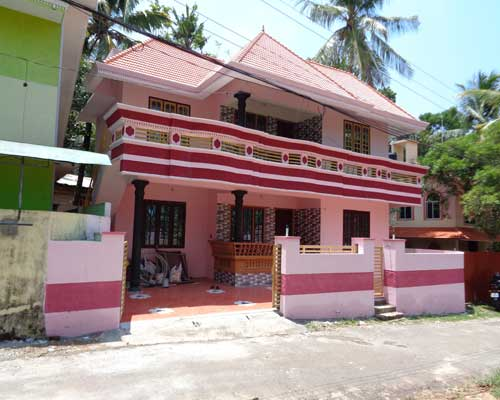 Trivandrum Properties New 4 BHK House for sale at Peyad Trivandrum Kerala Real Estate