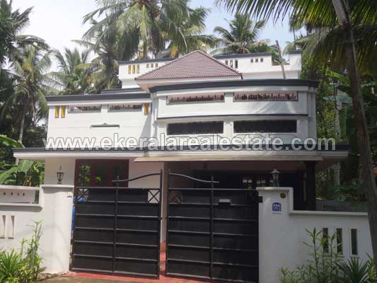 Poojappura Properties 4 BHK House for Sale at Poojappura Mudavanmugal Trivandrum Kerala