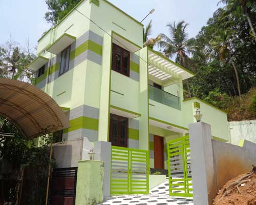 Sreekaryam Properties Newly Constructed  House for Sale at Njandoorkonam Sreekaryam Trivandrum Kerala