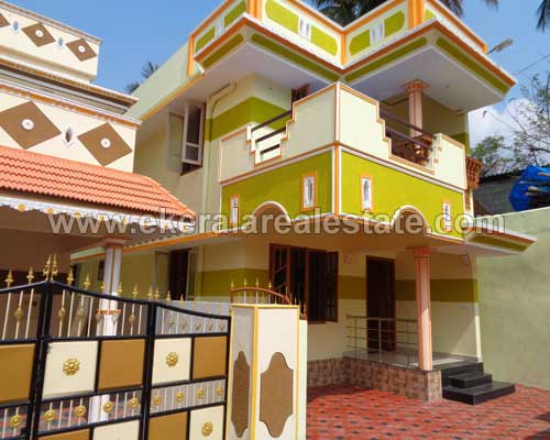 Properties in Peyad Below 50 Lakhs Newly Built 3 BHK House for Sale at Peyad Trivandrum Kerala