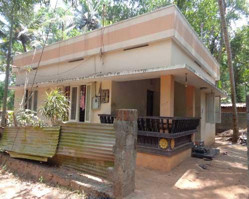 Properties in Pravachambalam Single Storied Used 2 BHK House for Sale at Pravachambalam Trivandrum Kerala