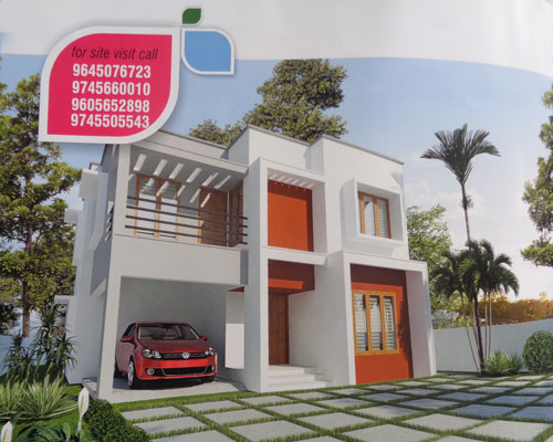 Properties in Mannanthala Customized Villas for Sale at Mannanthala Trivandrum Kerala