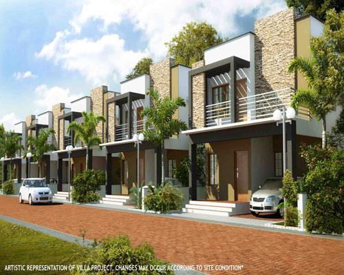 New Villas for Sale at Menamkulam Kazhakuttom Trivandrum Kerala Properties at Kazhakuttom