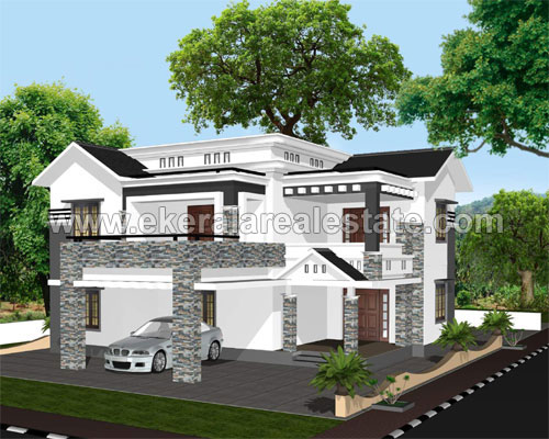 Properties near Peroorkada Newly Built  Villas for Sale at Kudappanakunnu Trivandrum Kerala