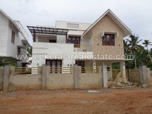Luxury New Villas for sale Powdikonam near Sreekaryam Trivandrum Kerala