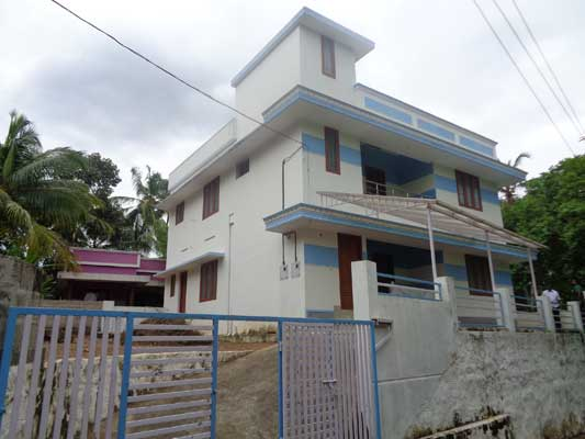 Residential Brand New House for sale Vellayani near Nemom Trivandrum Kerala