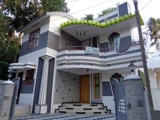 3 Bedrooms Posh House in Thozhuvancode Vattiyoorkavu Trivandrum Kerala