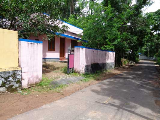Road frontage House in  Idavilakom Mangalapuram  Trivandrum Kerala