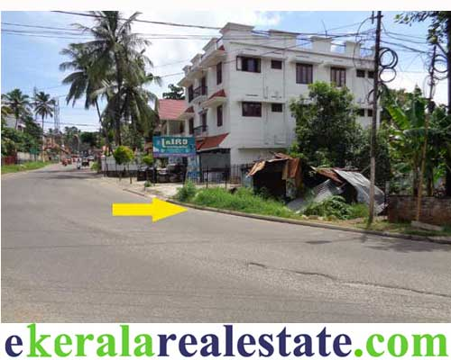 kerala real estate trivandrum thirumala road frontage land for sale