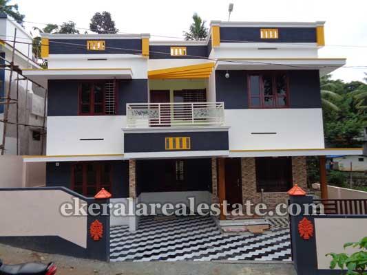 Double storied new house in Vayalikada Vattiyoorkavu Trivandrum Kerala