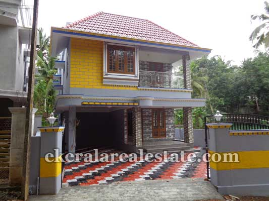 Double storied New house villas in Azhikode near Karakulam Trivandrum Kerala