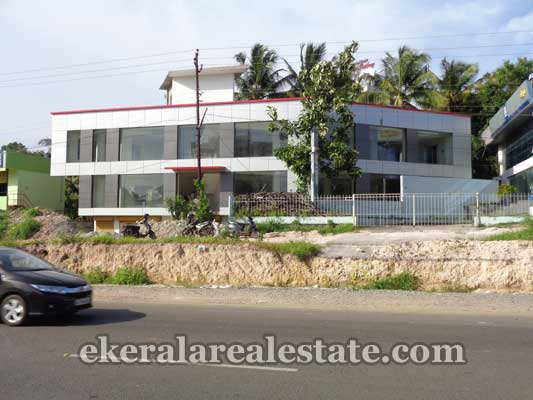 properties sale Kazhakuttom National Highway frontage Building for sale