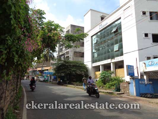 properties sale Vazhuthacaud Main Road frontage Building for sale