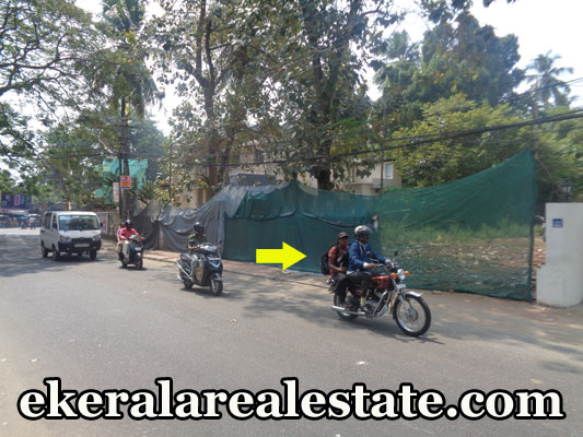 road frontage land plots sale at Jagathy trivandrum kerala real estate properties jagathy
