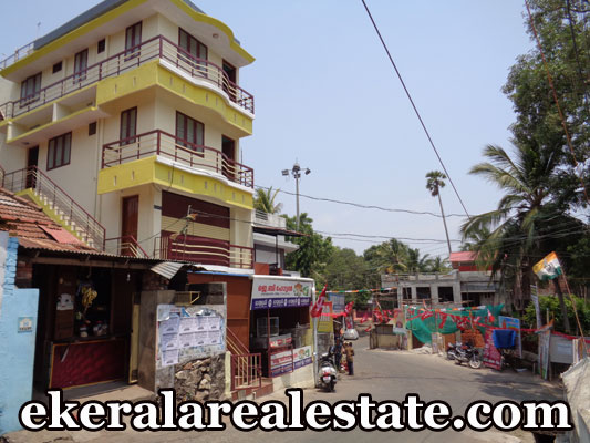 2300 sq.ft building with shops and apartment sale at Thamalam Poojappura Trivandrum real estate properties Thamalam Poojappura Trivandrum