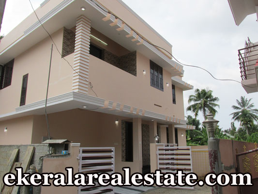 kerala real estate 1550 Sqft New House Sale at Ulloor Prashanth Nagar Road Near More Super Market Trivandrum Ulloor properties