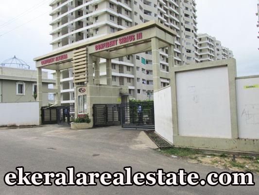 new 1185 sq.ft apartment flat sale at Menamkulam Kazhakuttom Technopark Trivandrum real estate Menamkulam properties flat sale