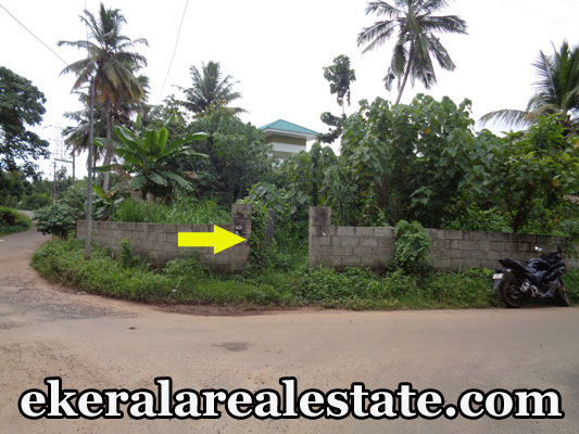 Lorry access plot for sale at Mukkola Mannanthala Trivandrum Mukkola real estate trivandrum properties sale
