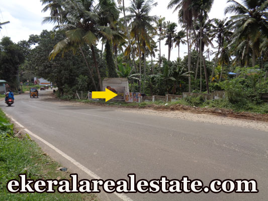 main road frontage 10 cent land for sale at Nedumangad Trivandrum Nedumangad real estate kerala trivandrum