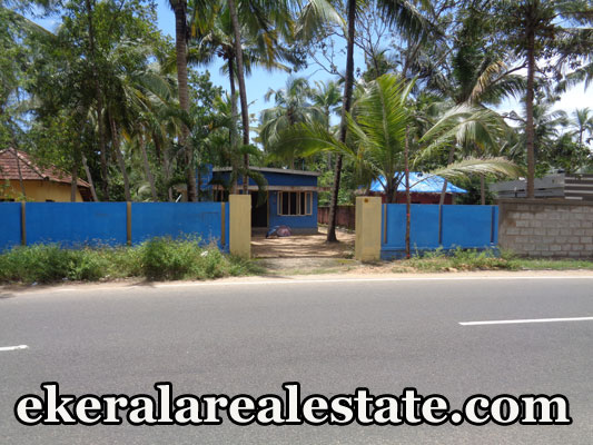 Main road frontage land plot for sale at Thumba Menamkulam Kazhakuttom Trivandrum real estate kerala trivandrum Thumba Menamkulam Kazhakuttom