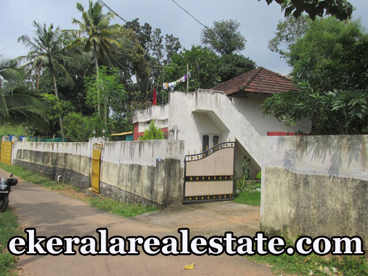 land and house for sale at Kachani Mylam Trivandrum Near GV Raja Sports School real estate trivandrum kerala