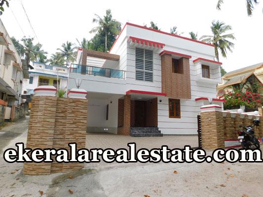 land and 2500 sq.ft house for sale at Kuravankonam Kowdiar Trivandrum Kuravankonam real estate properties sale