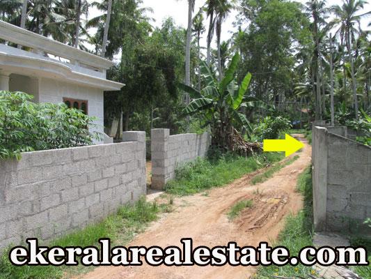 residential house plot for sale at Kaniyapuram Kazhakuttom Trivandrum Kazhakuttom real estate properties sale