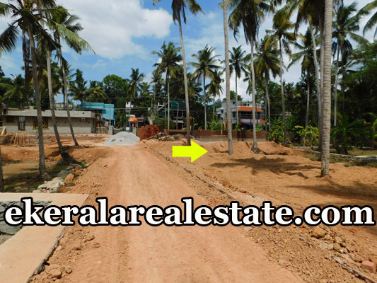 villa plots for sale at Kundamankadavu Bridge Thirumala Trivandrum real estate properties sale
